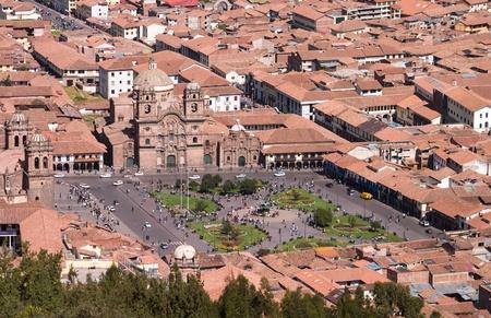 la compania: view from Sacsayhuaman