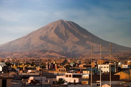 Misti in Arequipa in Peru