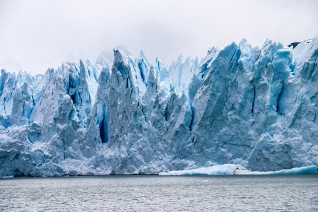 Perito Moreno glacier in Argentina detail photo