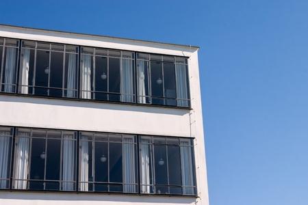 rationalism: Bauhaus Dessau detail