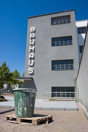 bauhaus: Bauhaus Dessau under construction