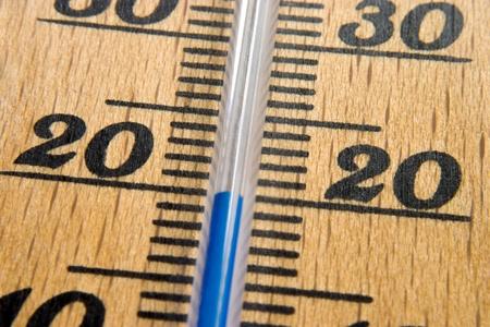 Thermometer macro Stock Photo