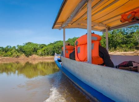 rio amazonas: Explorando la selva tropical cerca del Amazonas