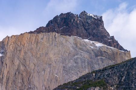 paine: Los Cuernos detail in Torres del Paine
