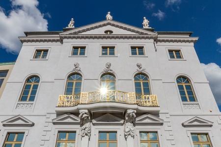 Knobelsdorffhaus in Potsdam beside the old town hall