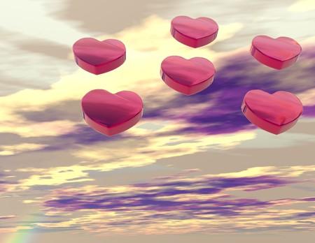 Digital visualization of hearts