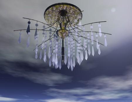 Digital visualization of a candelabra