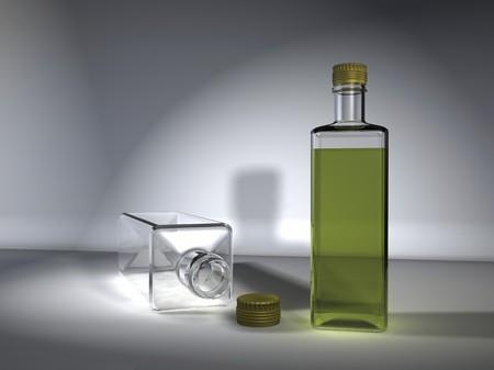 stilllife: digital visualization of bottles