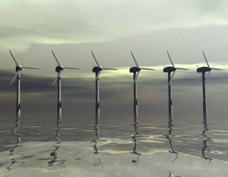 alternativ: Digital visualization of windmills