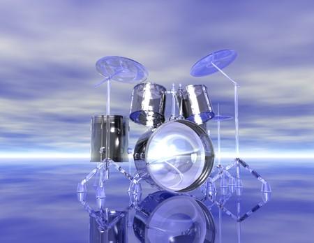 Digital visualization of drums