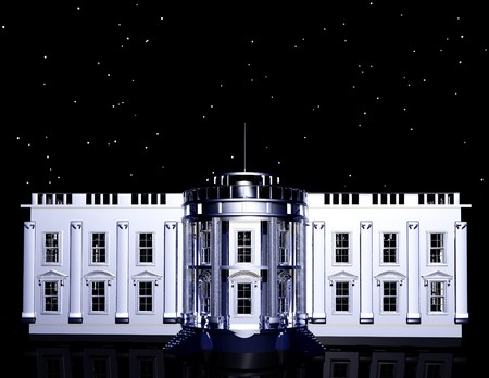 gigital rendering of the whitehouse photo