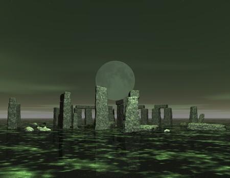 illusionary: digital visualization of stonehenge