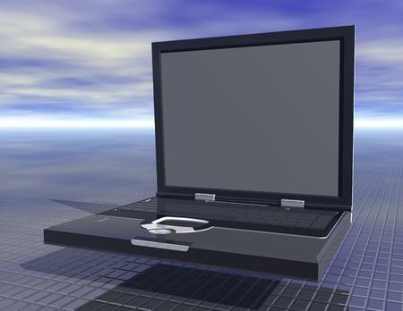 digital rendering of a notebook