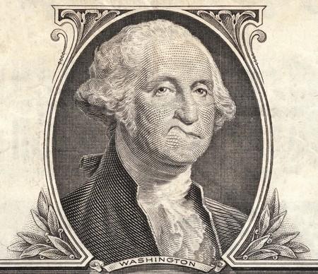 makler: Detail der einen Dollar-Schein Lizenzfreie Bilder