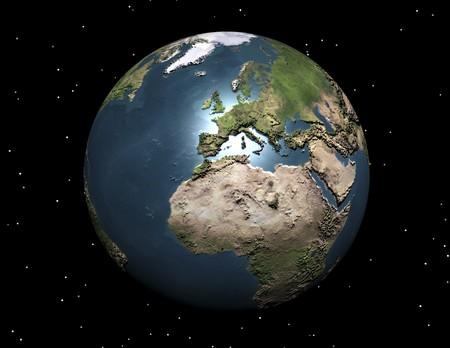 visualisation numérique de la terre