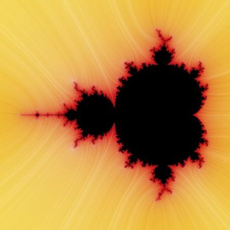 digital visualization of a fractal Stock Photo - 8114503