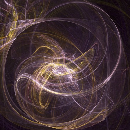 algorithmic: digital visualization of an abstract background Stock Photo