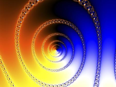 reiteration: digital rendering of a fractal
