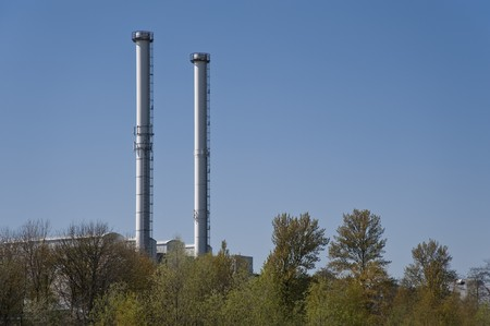 powerstation: detail of industrial architecture
