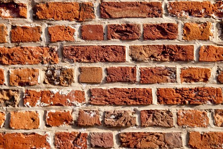 close up of brickwork in stade / germany Stock Photo - 8113958