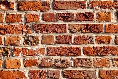 brickwork: close up of brickwork in stade  germany
