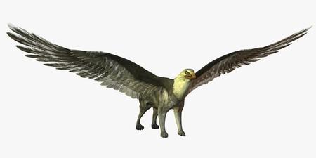 Visualisation numérique de créature mythique