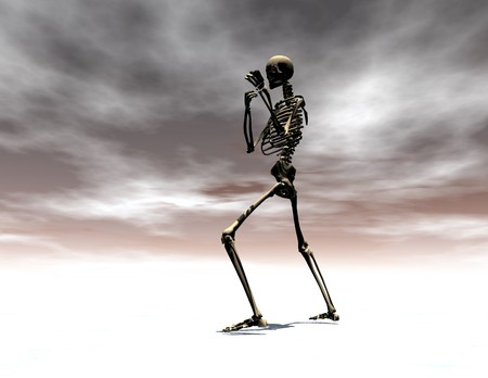 scaring: Digital visualization of a skeleton