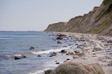 kiel: baltic sea near kiel  germany