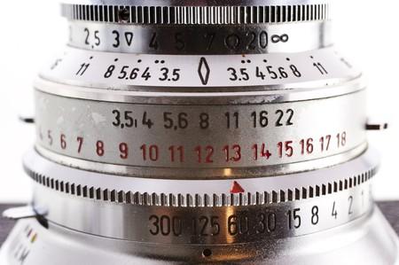 classical mechanics: close up of a camera