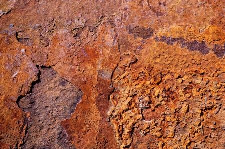 rott: Estructura de tubos de hierro oxidado