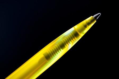 ballpen: close up of a ball pen