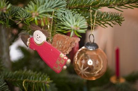 close up of christmas decoration