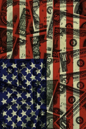 dollarbill: Digital composition  Financial crisis  Bank notes