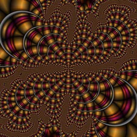 algorithmic: digital visualization of a fractal