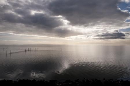 ijssel: ijssel lake in the netherlands