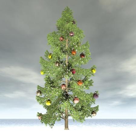 christmasball: digital visualization of christmas decoration