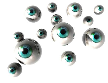 supervise: digital visualization of eyes
