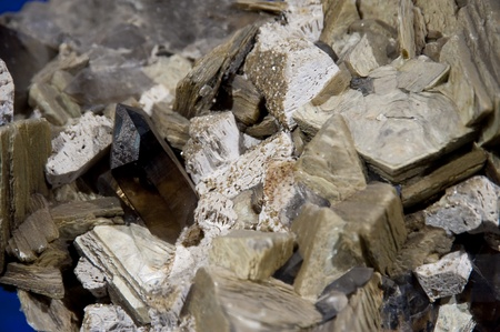 mineralogy: close up of a mineral