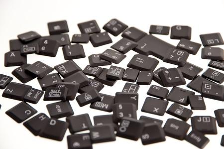 keys of a keyboard Stock Photo - 8396281