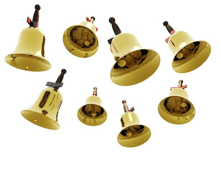 digital visualization of jingle bells Stock Photo - 8457387