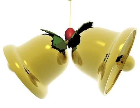 digital visualization of  jingle bells Stock Photo - 8457384