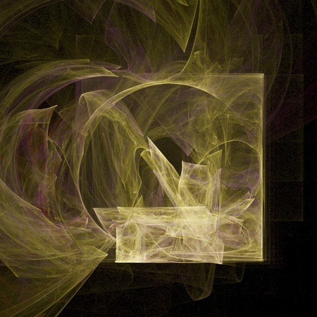 turbulent: digital visualization of a abstract background Stock Photo