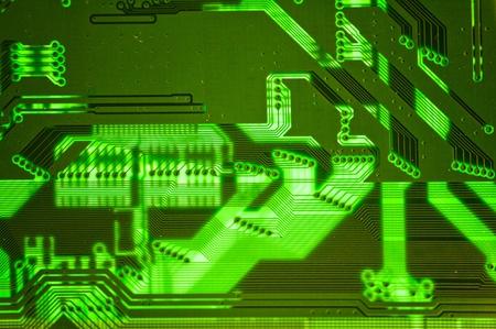 close up of electronics photo