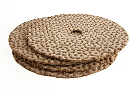 alimentation: close up of crispbread