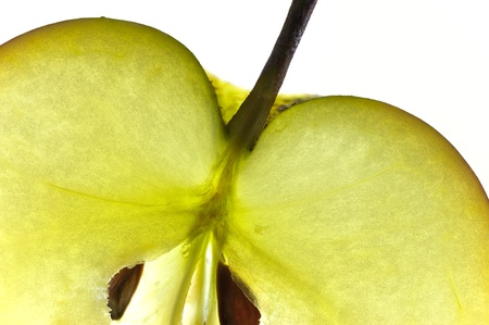 close up of an apple Stock Photo