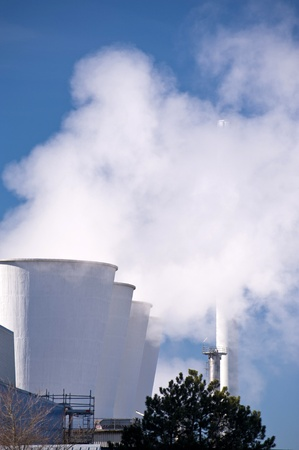 Detail of an oil refinery Stock Photo - 9101517