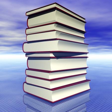 Digital visualization of books