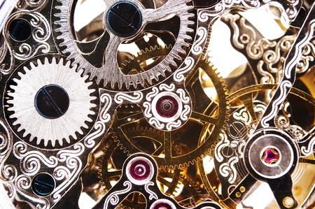 gear  speed: Close up of a orologeria Archivio Fotografico