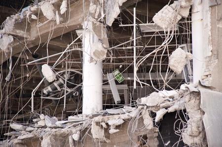 dismantling: Demolition building