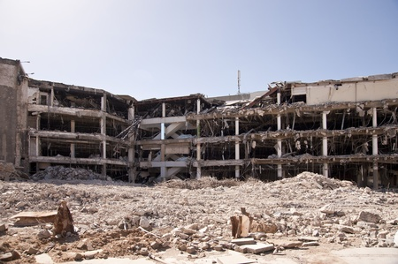 Bâtiment de démolition